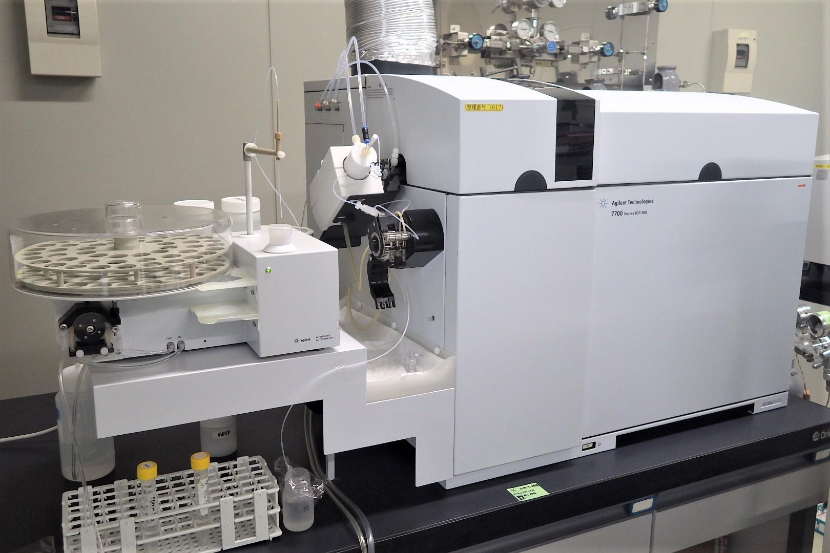 ICP-MS(誘導結合プラズマ質量分析装置)